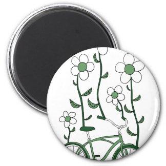 Flower Bike Magnet