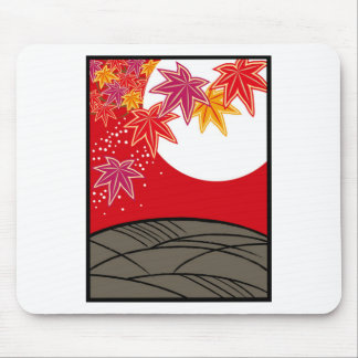 Flower bill monk August tinted autumn leaves Mouse Pad