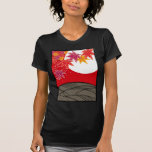 Flower bill monk August tinted autumn leaves T-Shirt