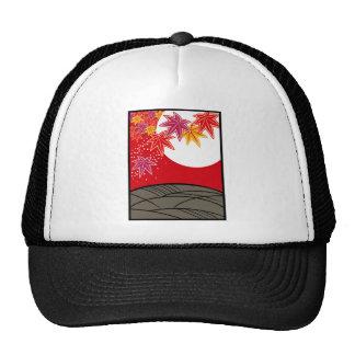 Flower bill monk August tinted autumn leaves Trucker Hat