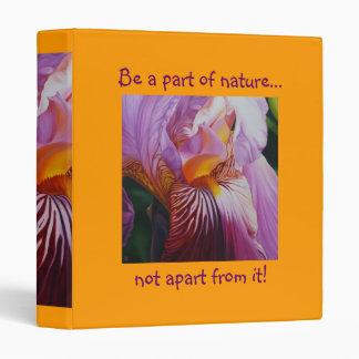 Flower Binder - Spring Iris