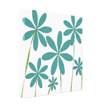 Beach Themed Flower Bliss1 Canvas Print