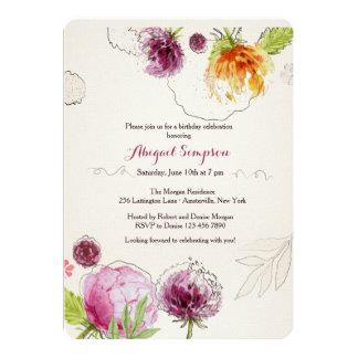 Flower Bliss Invitation