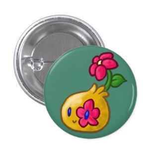 Flower Blob 1 Inch Round Button