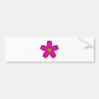 Flower bloom more flower blossom bumper sticker