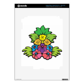 Flower Bloom Skin For iPad 3
