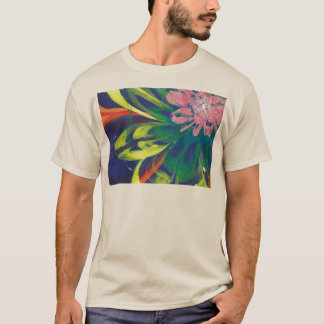 Flower blooming in the COOL sea of the universe T-Shirt