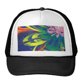 Flower blooming in the COOL sea of the universe Trucker Hat