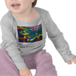 Flower blooming in the COOL sea of the universe T-shirts