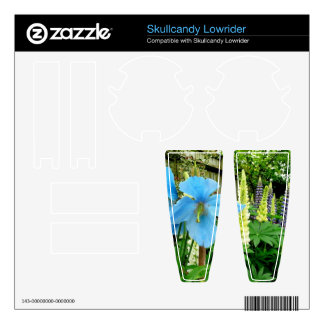 FLOWER BLOOMS SKULLCANDY LOWRIDER DECAL