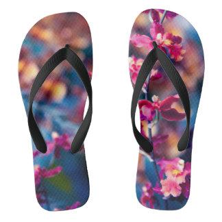 Flower Blossom Flip Flops