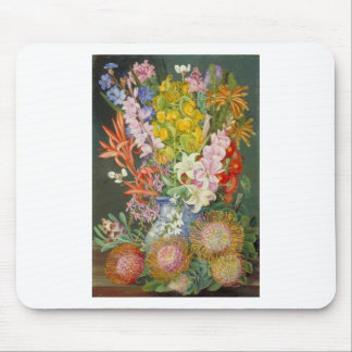 Flower Blossoms Peace Love Inspirational Faith Mouse Pad
