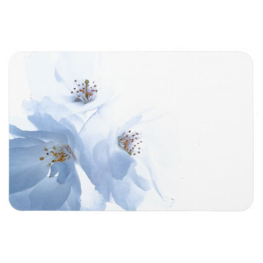 Flower Blossoms Save the Date Flexi Magnet