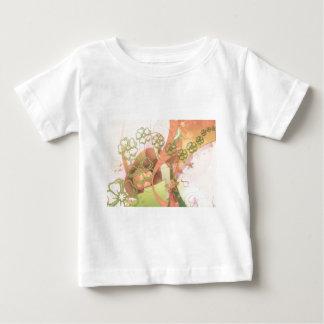 Flower Blossoms Vines  Love Destiny Art Digital Baby T-Shirt
