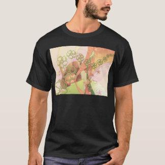 Flower Blossoms Vines  Love Destiny Art Digital T-Shirt