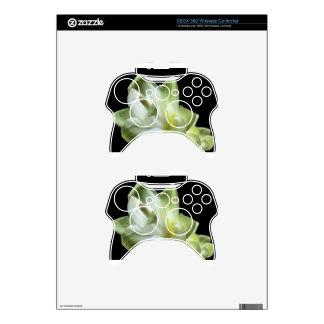 flower blossoms white Love Kiss Make Up Xbox 360 Controller Decal