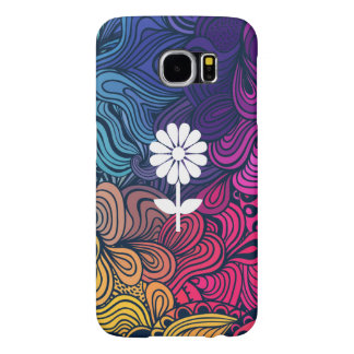 Flower Blowers Graphic Samsung Galaxy S6 Cases