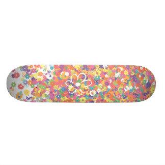 Flower Boarder Skateboard