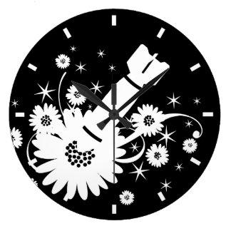 Flower Bomb Clock