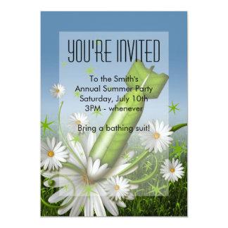 Flower Bomb Invitation