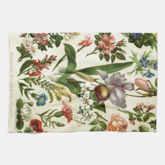 Flower Botanicals Kitchen Towels