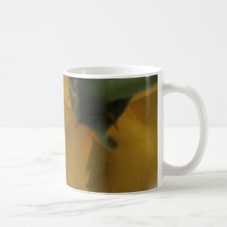 Flower bottom coffee mug