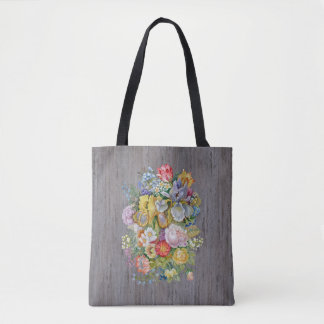 Flower Bouquet All-Over-Print Tote Bag