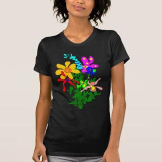 Flower bouquet, bright colors, orchids T-Shirt