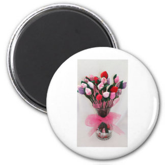 Flower Bouquet candy Photography Magnet