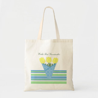 Flower Bouquet Collection Budget Tote Bag