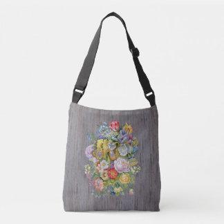 Flower Bouquet Cross Body Bag