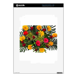 Flower Bouquet iPad 2 Decal