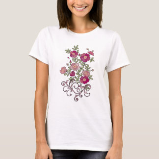 Flower Bouquet Ladies T-Shirt