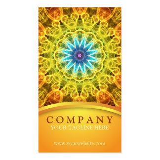 Flower Bouquet Mandala Double-Sided Standard Business Cards (Pack Of 100)