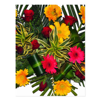 Flower Bouquet Postcard