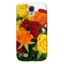 Flower Bouquet Samsung Galaxy S4 Case