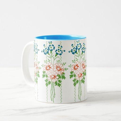 Flower bouquet... Two-Tone coffee mug