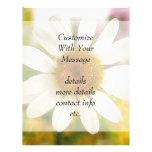 Flower Bouquet - White Daisy Flyer Design