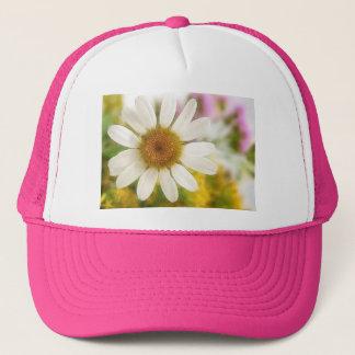 Flower Bouquet - White Daisy Trucker Hat