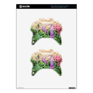 Flower box display xbox 360 controller decal