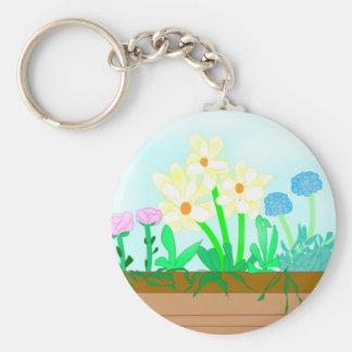 Flower-box Key Chain