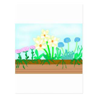 Flower-box Postcard