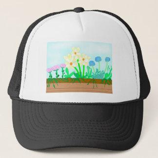 Flower-box Trucker Hat