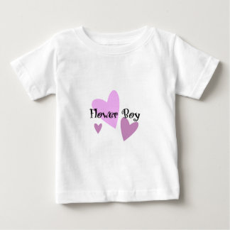 Flower Boy Baby T-Shirt