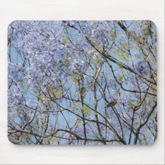 Flower Branches Mouse Pad