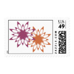 Flower Bridal Shower Invitation Stamp