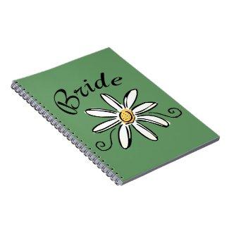 Flower Bride notebook