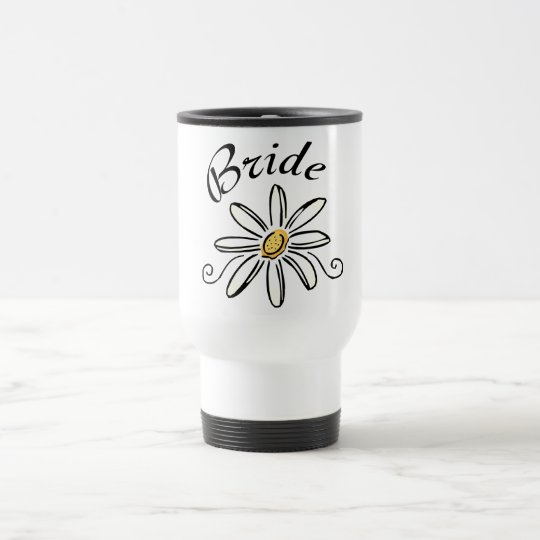 Flower Bride Travel Mug