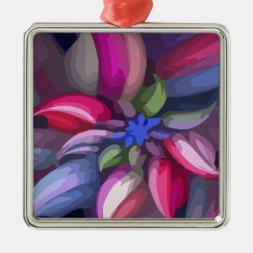 Flower Bright Christmas Ornament
