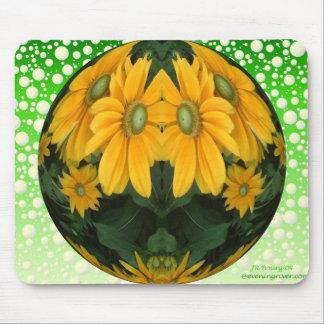 Flower Bubble Mouse Pad